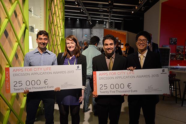 Les gagnants de l'edition 2013