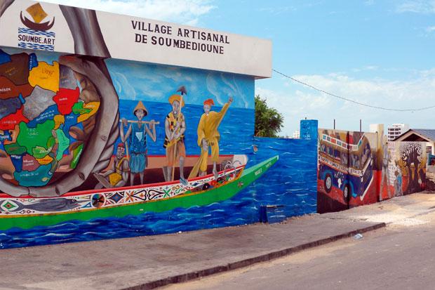 Situé à Soumbédioune et en face de la Corniche, le village artisanal est très peu connu des Sénégalais