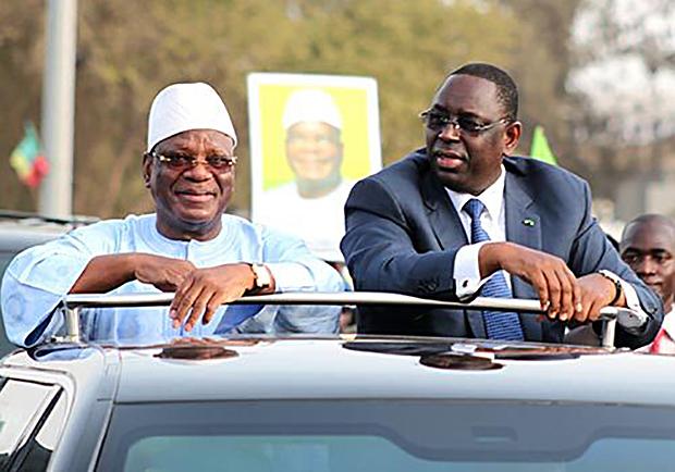 Ibrahim Boubacar Keïta (Mali) et Maki Sall (Sénégal)