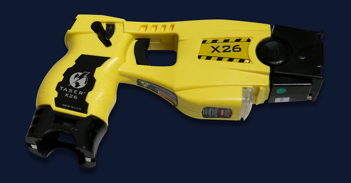 Shock Tactics The quiet disappearance of Tasers potent