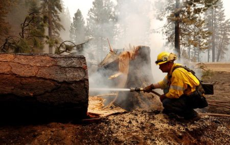 Dixie Fire is Now California's Second-largest Wildfire Ever