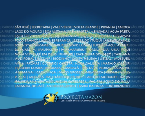 Our 75 target communities for 2009 wallpaper