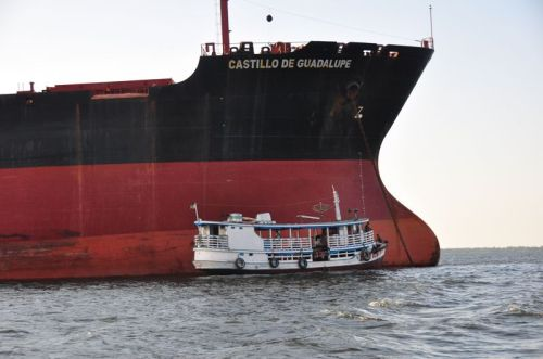 Yea- that's a big ship.