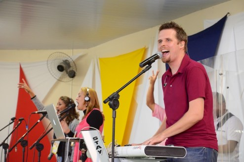 Leading worship in Southern Brazil