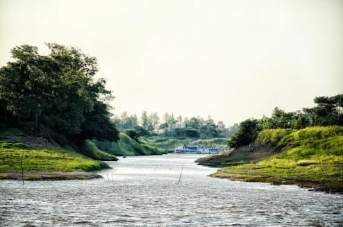 Scenes along the Amazon River