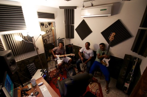 Recording the 2nd worship cd in my little studio