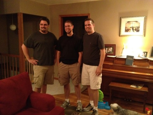 We only get together once every year or two, but we still look and dress alike!  Best friends forever, they say!