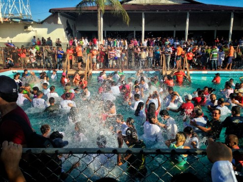 We recently baptized 1,042 people!