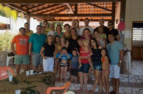 Saying good-bye to many Brazilian friends