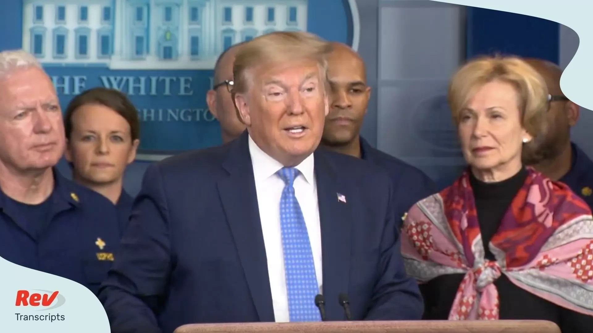 Donald Trump and Coronavirus Task Force News Conference Transcript ...