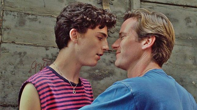 Pelicula call me by your name