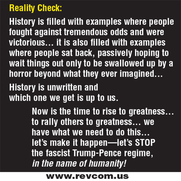 History is filled with examples where people fought against tremendous odds and were fictorious...