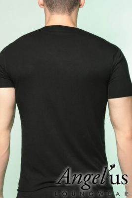 tee shirt dos Homme