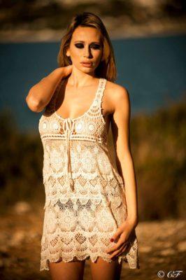 robe tunique crochet