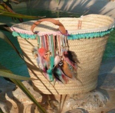 panier bijoux et plumes