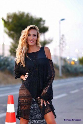 maillot et tunique noire