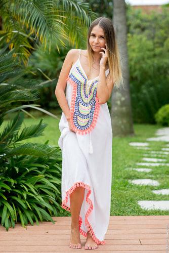 robe longue pour l'été