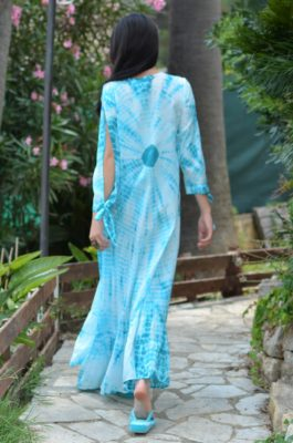 robe kaftan longue