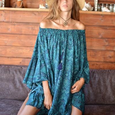 Petite robe émeraude
