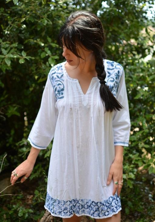robe ou tunique coton
