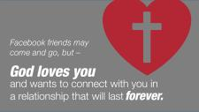 God Wants to Connect with You Forever