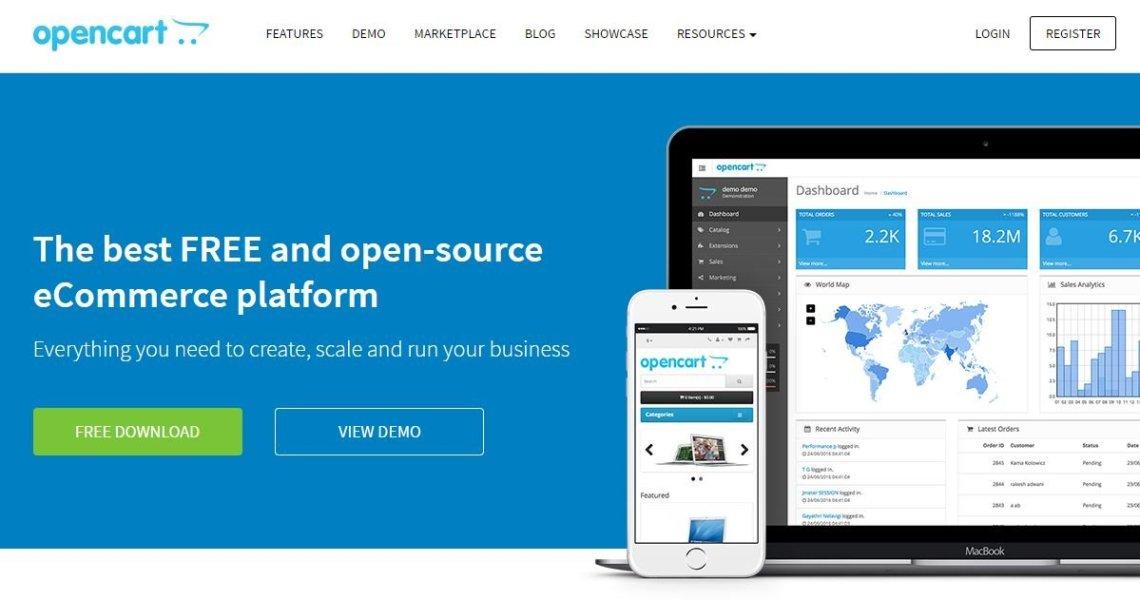 Open Cart- Open Source eCommerce Platform