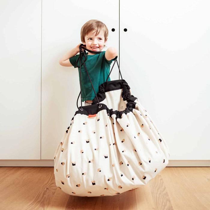 sac rangement tapis tampons de peinture play and go