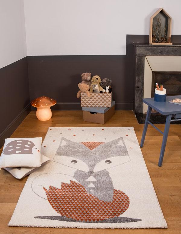tapis renard