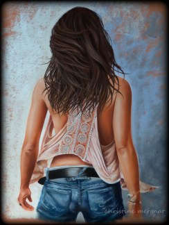 d'après une photo de Cécile Paintoux (format 50 x 70 cm) DISPO
