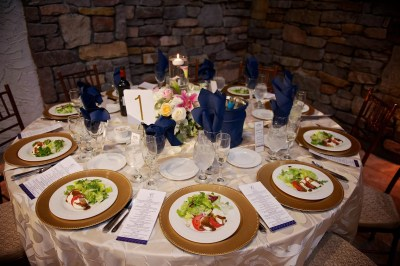 custom table settings with menus