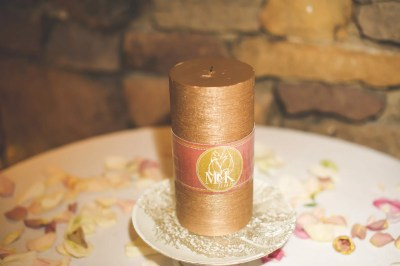 memory candle wrap