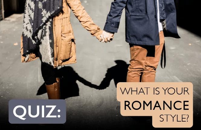 romance style quiz header