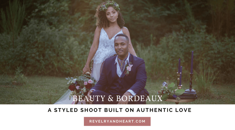 Navy & Bordeaux- A styled shoot built on authentic love