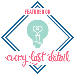 revelry and heart featured on every last details blog