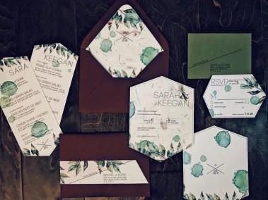 Seeded Wildflower Invitation