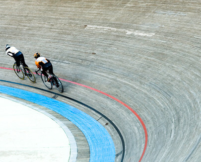 Fahrrad Rennstrecke