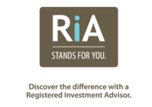 RIA Stands for You branding
