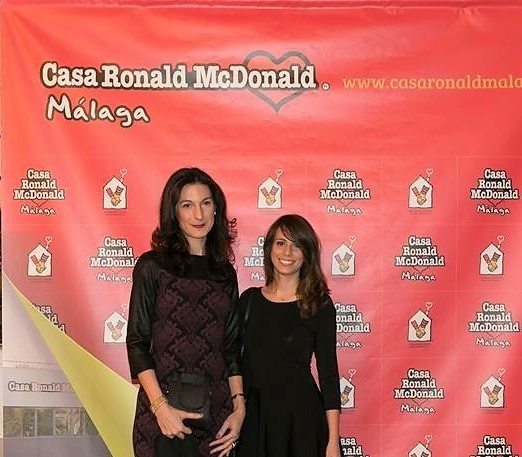 RMS at Ronald McDonald House Charity Gala in Málaga, Spain