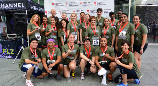 RMS sponsors 2014 Fight for Air Climb