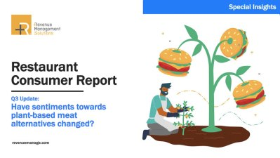 COVID-19 Restaurant Consumers Q3: Plant-based Meat Alternatives