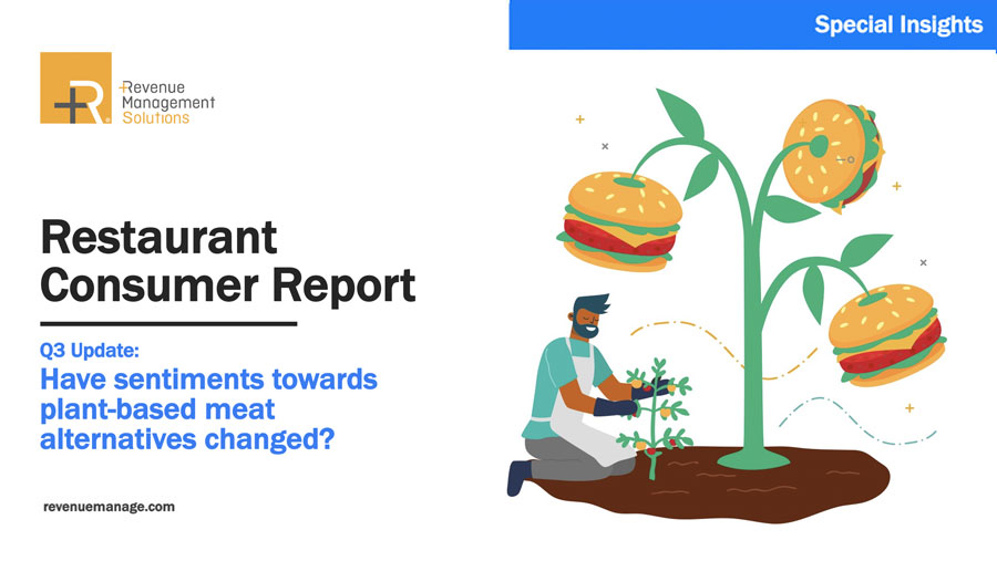 COVID-19 Restaurant Consumers Q3: Plant-based Meat Alternatives