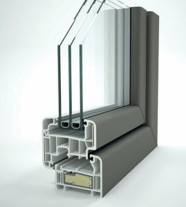 Ventanas aislantes PVC