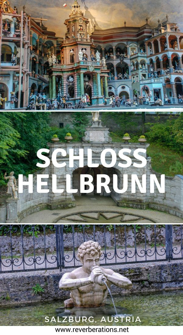 Located just outside of Salzburg, Austria, Schloss Hellbrunn is a palace like no other. The beautiful Lustschloss has hidden water fountains that makes for a fun visit! #salzburg #austria