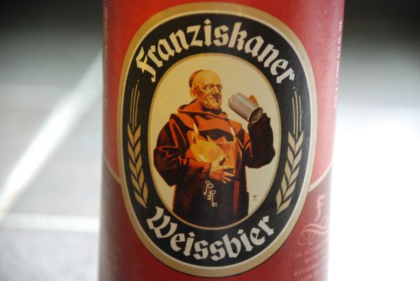 German Beer: Franziskaner Weissbier