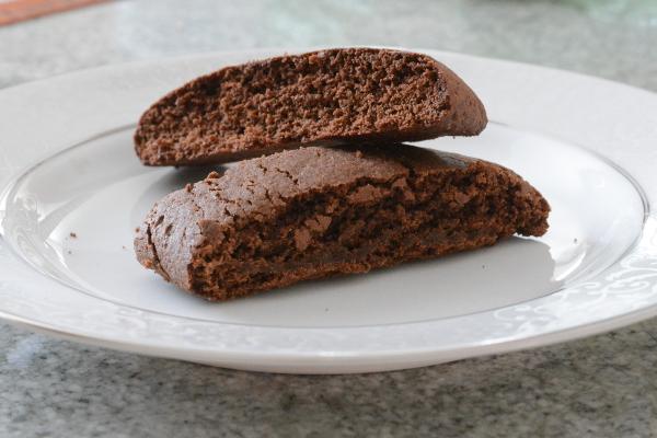 Homemade Chocolate Biscotti