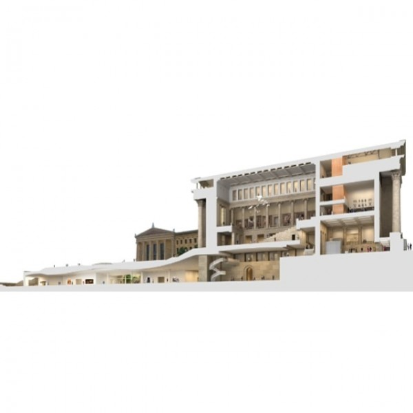 Frank Gehry's design for the renewal and expansion of the Philadelphia Museum of Art