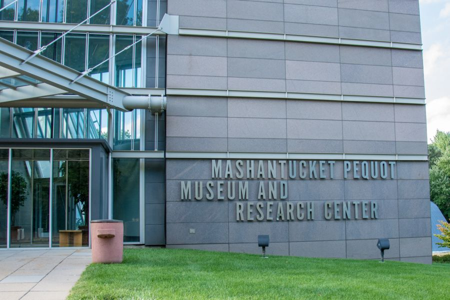 The Mashantucket Pequot Museum in Connecticut.