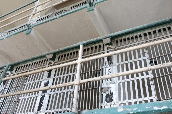 prison cells at alcatraz