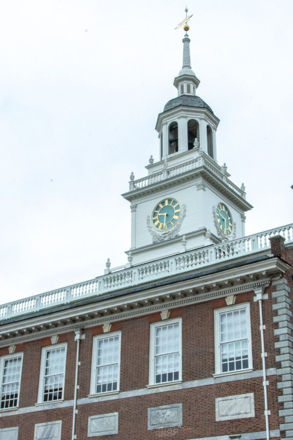 Relive historic Philadelphia with a visit to Independence Hall.