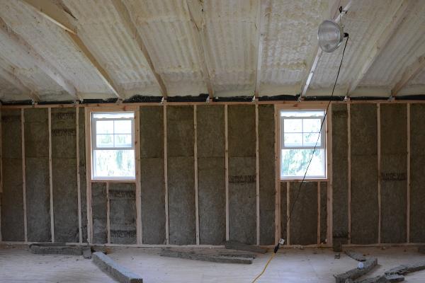 insulating the garage